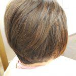 生え癖がきつい髪のキュビズムカット