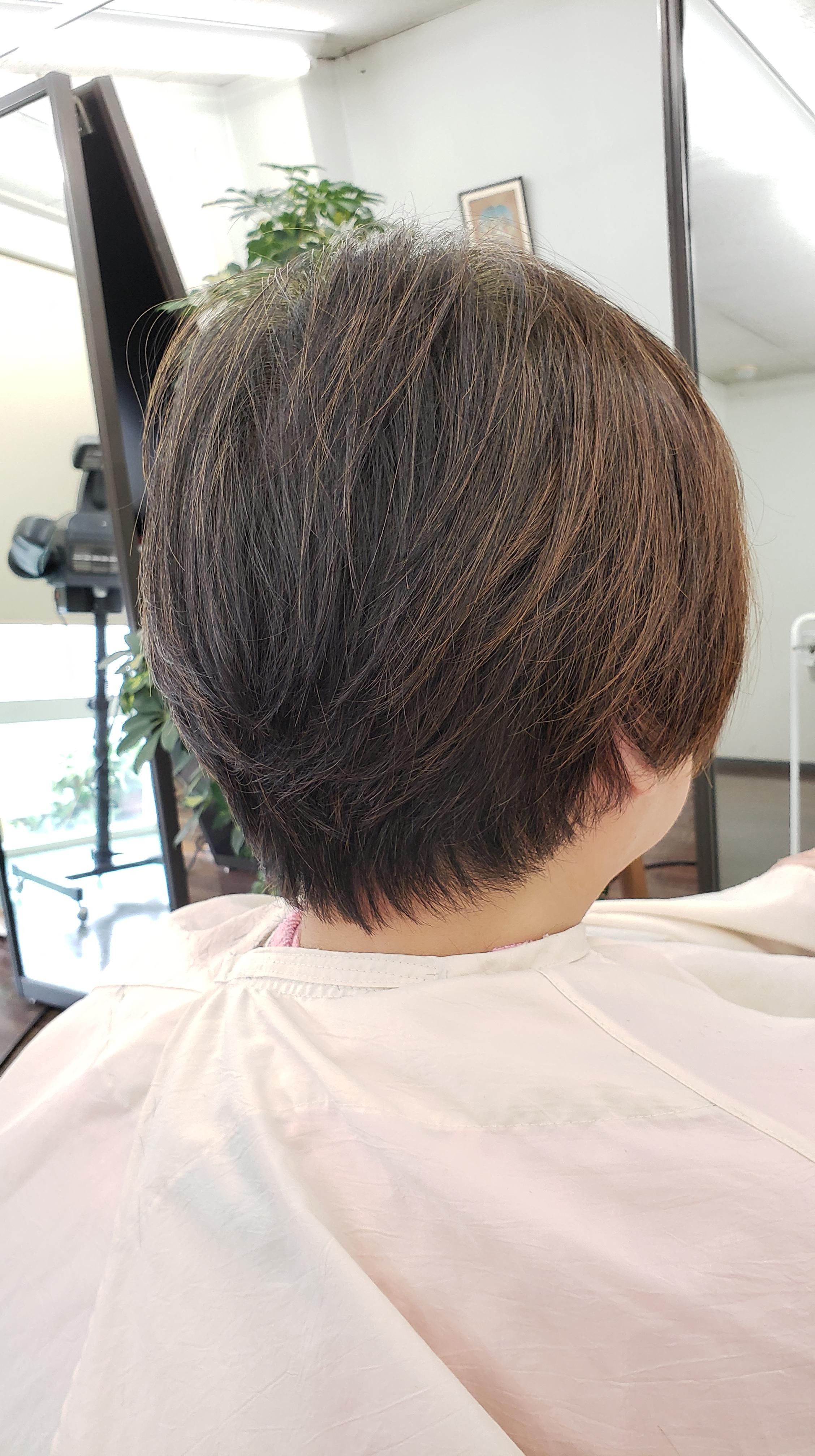 くせ毛がましになってきました