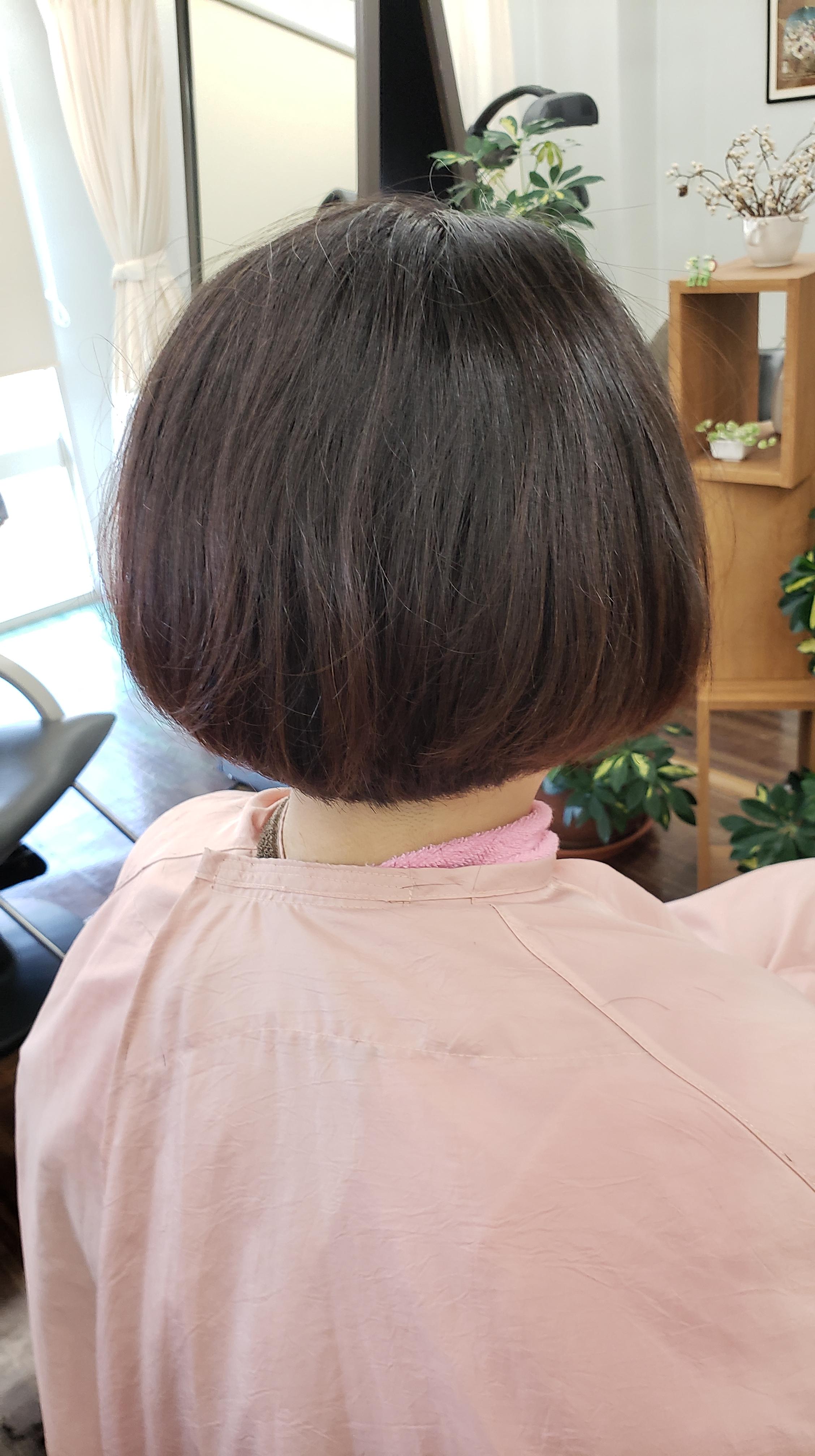 髪に意思をもたせるキュビズムカット喜ばれます
