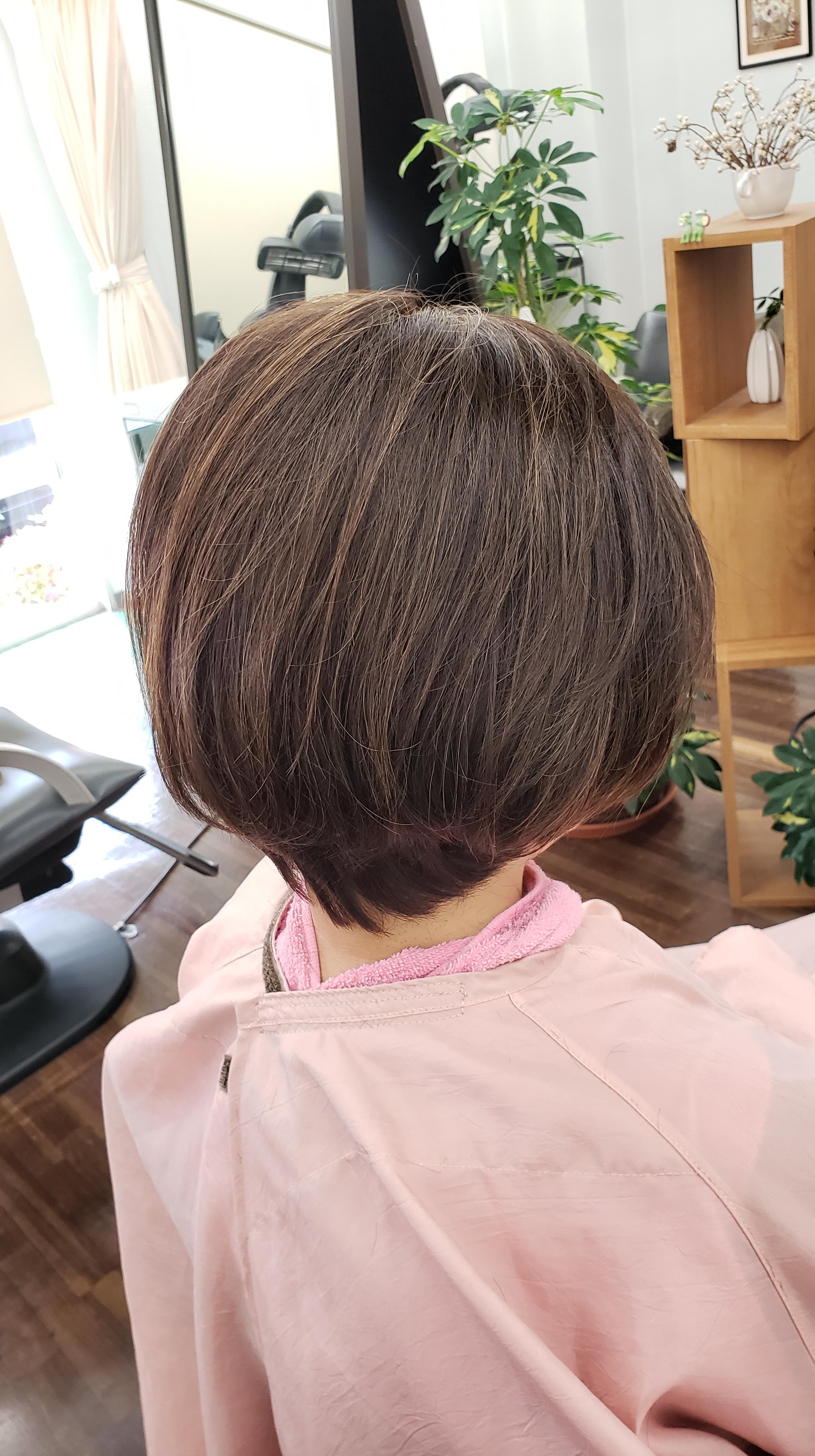 コロナ問題で三ヶ月自粛してましたが髪は大丈夫でした